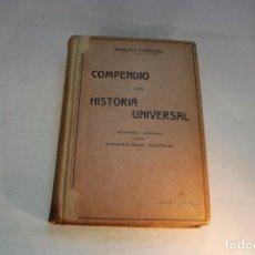 Libros antiguos: COMPENDIO DE LA HISTORIA UNIVERSAL - MORENO ESPINOSA - EDITORIAL ATLANTE - BARCELONA - CIRCA 1900 -. Lote 96384571