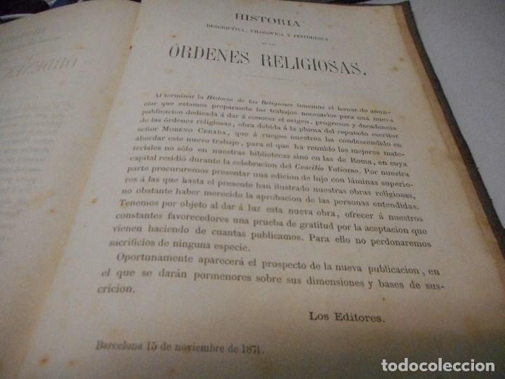 Libros antiguos: libreria ghotica 1871 historia de las religiones en un solo tomo muchos grabados - Foto 8 - 96455343