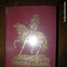 Libros antiguos: (F.1) HISTORIA DE ESPAÑA POR D. TEODORO BARO AÑO 1891. Lote 96575739