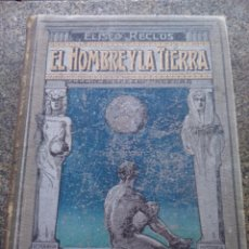 Alte Bücher - EL HOMBRE Y LA TIERRA -- TOMO 2 -- ELISEO RECLUS -- EDITORIAL MAUCCI -- HISTORIA ANTIGUA -- - 96869631
