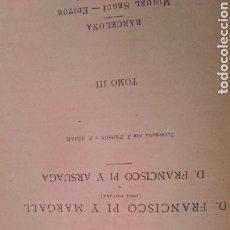 Libros antiguos: HISTORIA DE ESPAÑA SIGLO XIX TOMO 3 CENTRO EDITORIAL ARTÍSTICO. Lote 96956000
