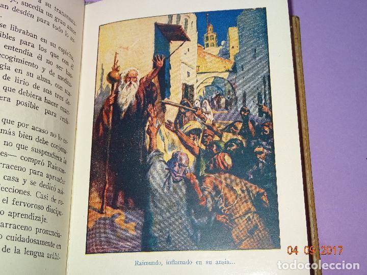Libros antiguos: RAIMUNDO LULIO de Páginas Brillantes de la Historia de la Editorial ARALUCE del Año 1941 - Foto 2 - 97154571