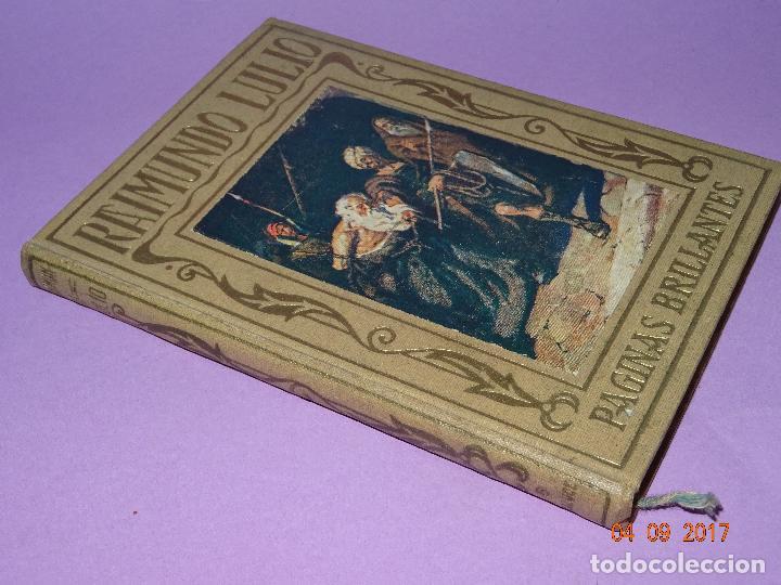Libros antiguos: RAIMUNDO LULIO de Páginas Brillantes de la Historia de la Editorial ARALUCE del Año 1941 - Foto 5 - 97154571