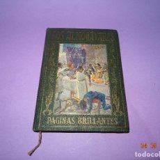 Libros antiguos: LOS ALMOGÁVARES DE PÁGINAS BRILLANTES DE LA HISTORIA DE LA EDITORIAL ARALUCE DEL AÑO 1930. Lote 97155187