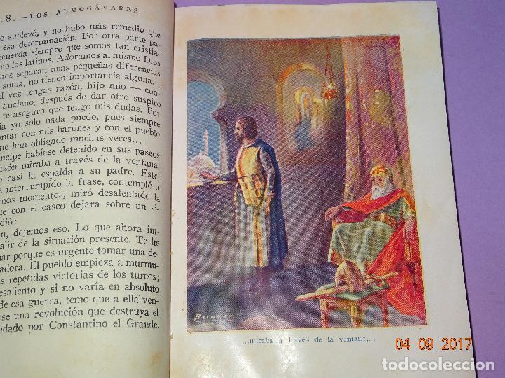 Libros antiguos: LOS ALMOGÁVARES de Páginas Brillantes de la Historia de la Editorial ARALUCE del Año 1930 - Foto 2 - 97155187