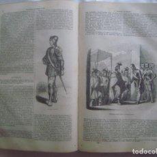 Libros antiguos: LIBRERIA GHOTICA. VIDA DE CRITOBAL COLON. CONQUISTA DE MEJICO Y DEL PERU. 1851.FOLIO.MUCHOS GRABADOS. Lote 97445279