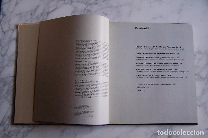 Libros antiguos: ORÍGENES DEL HOMBRE. LOS ISRAELITAS. LIBROS TIME- LIFE, 1981. - Foto 3 - 97679079