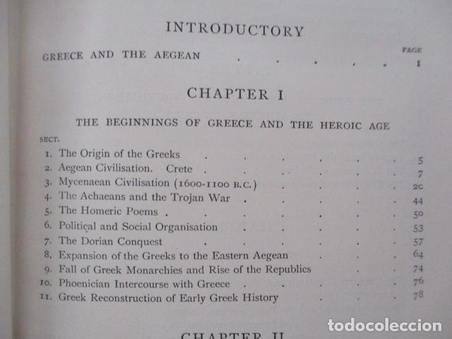 Libros antiguos: History of Greece - To The Death of Alexander the Great - J. B. Bury - (ingles) Alejandro Magno 1913 - Foto 14 - 98141675