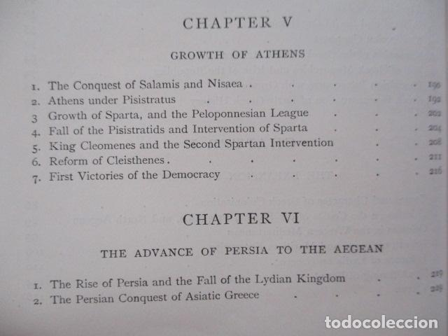 Libros antiguos: History of Greece - To The Death of Alexander the Great - J. B. Bury - (ingles) Alejandro Magno 1913 - Foto 17 - 98141675