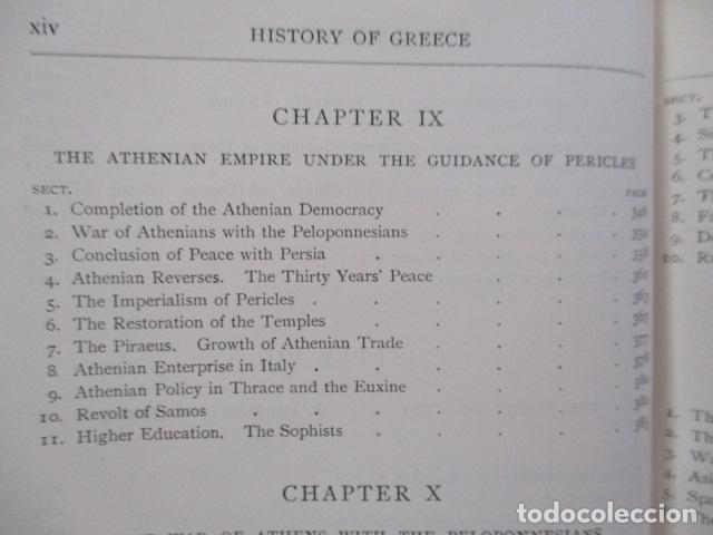 Libros antiguos: History of Greece - To The Death of Alexander the Great - J. B. Bury - (ingles) Alejandro Magno 1913 - Foto 21 - 98141675