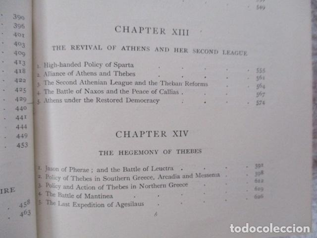 Libros antiguos: History of Greece - To The Death of Alexander the Great - J. B. Bury - (ingles) Alejandro Magno 1913 - Foto 25 - 98141675