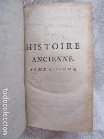 Libros antiguos: HISTOIRE ANCIENNE DES EGYPTIENS, DES CARTHAGINOIS - M. DCC XXXIV TOME SIXIEME (en Frances) - Foto 8 - 98144435