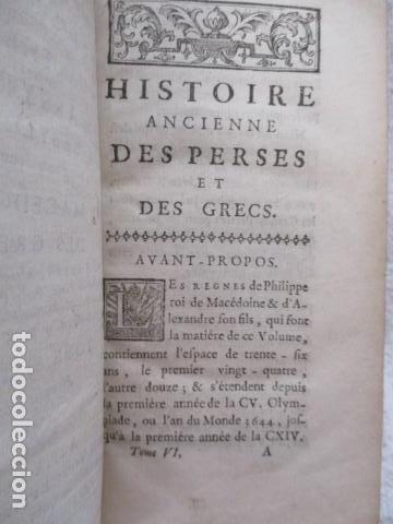Libros antiguos: HISTOIRE ANCIENNE DES EGYPTIENS, DES CARTHAGINOIS - M. DCC XXXIV TOME SIXIEME (en Frances) - Foto 13 - 98144435