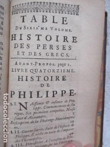 Libros antiguos: HISTOIRE ANCIENNE DES EGYPTIENS, DES CARTHAGINOIS - M. DCC XXXIV TOME SIXIEME (en Frances) - Foto 21 - 98144435