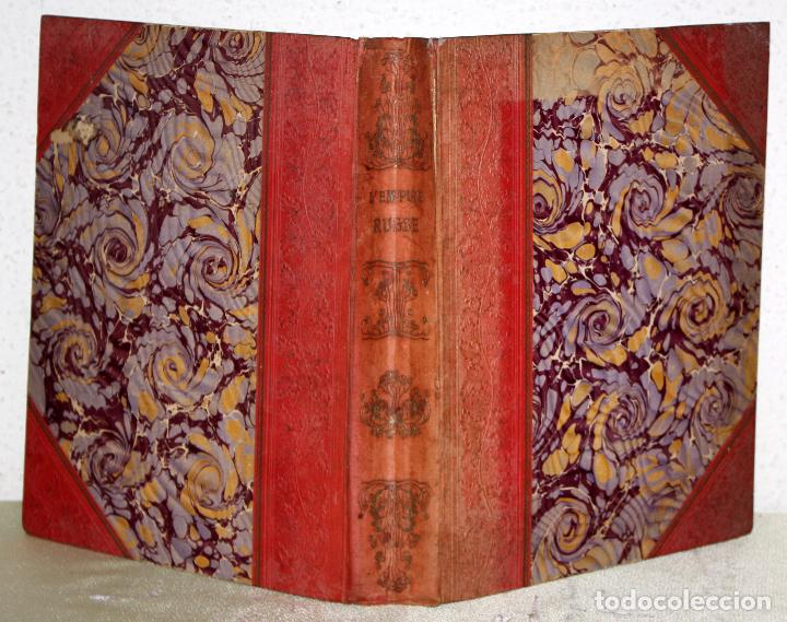 Libros antiguos: L'EMPIRE RUSSE HISTOIRE & DESCRIPTION. EDOUARD DUPRAT. EDIT. LIBRAIRIE DU XX SIECLE. - Foto 2 - 99632467