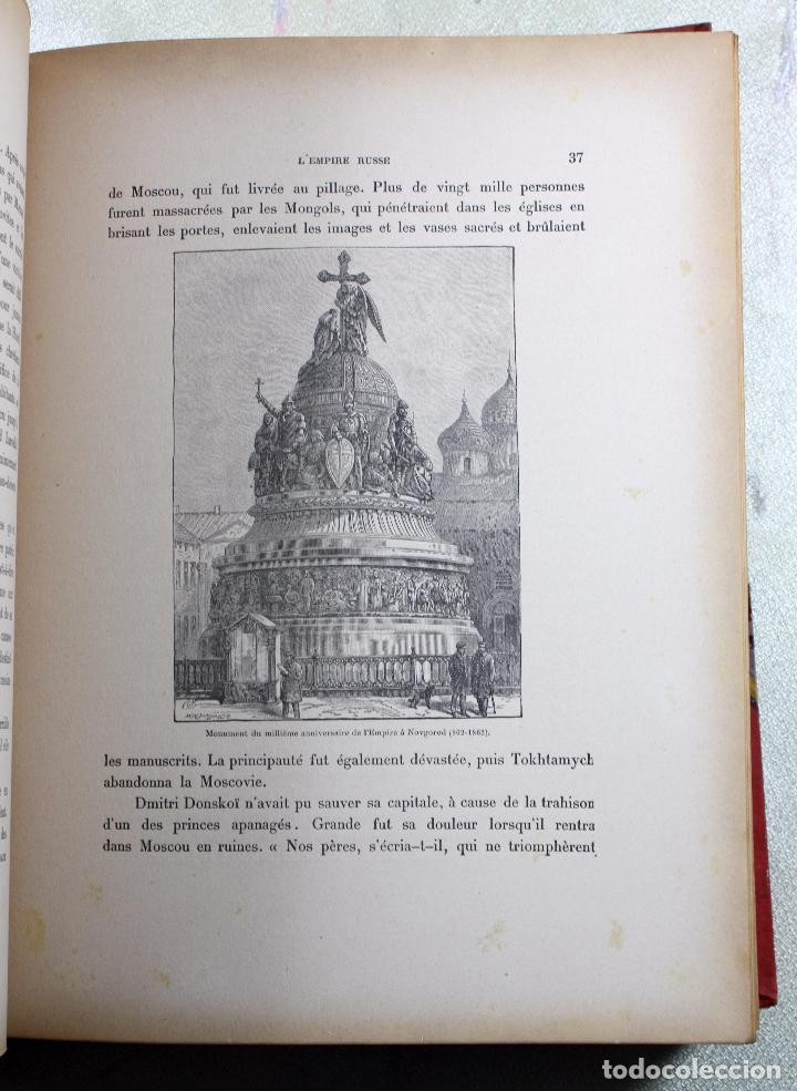 Libros antiguos: L'EMPIRE RUSSE HISTOIRE & DESCRIPTION. EDOUARD DUPRAT. EDIT. LIBRAIRIE DU XX SIECLE. - Foto 6 - 99632467