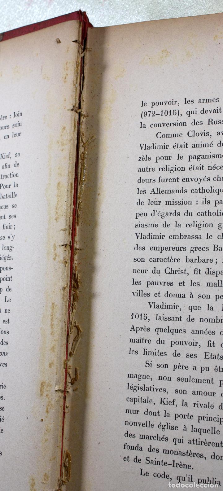 Libros antiguos: L'EMPIRE RUSSE HISTOIRE & DESCRIPTION. EDOUARD DUPRAT. EDIT. LIBRAIRIE DU XX SIECLE. - Foto 7 - 99632467