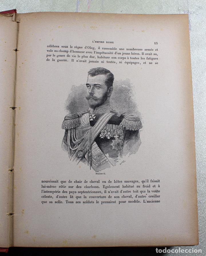 Libros antiguos: L'EMPIRE RUSSE HISTOIRE & DESCRIPTION. EDOUARD DUPRAT. EDIT. LIBRAIRIE DU XX SIECLE. - Foto 9 - 99632467