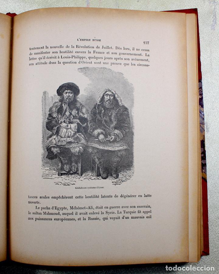 Libros antiguos: L'EMPIRE RUSSE HISTOIRE & DESCRIPTION. EDOUARD DUPRAT. EDIT. LIBRAIRIE DU XX SIECLE. - Foto 10 - 99632467