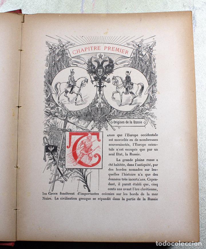 Libros antiguos: L'EMPIRE RUSSE HISTOIRE & DESCRIPTION. EDOUARD DUPRAT. EDIT. LIBRAIRIE DU XX SIECLE. - Foto 11 - 99632467