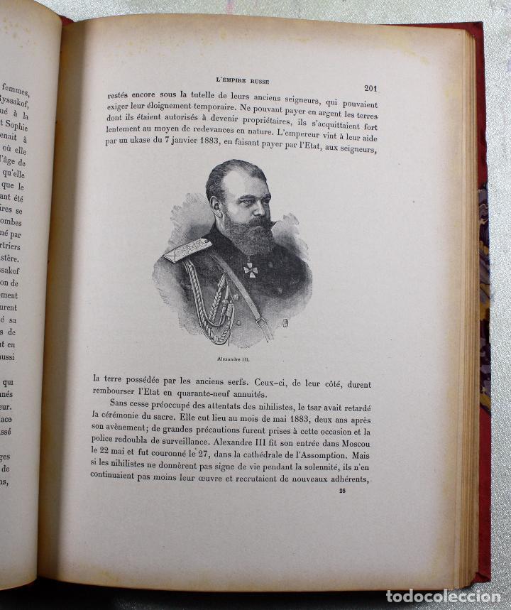 Libros antiguos: L'EMPIRE RUSSE HISTOIRE & DESCRIPTION. EDOUARD DUPRAT. EDIT. LIBRAIRIE DU XX SIECLE. - Foto 12 - 99632467