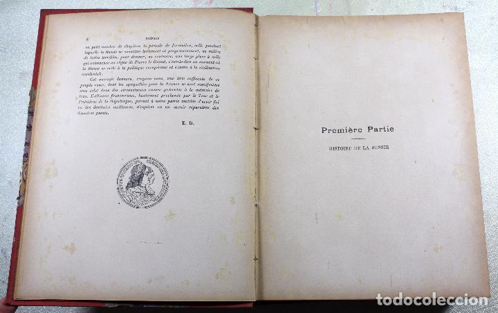 Libros antiguos: L'EMPIRE RUSSE HISTOIRE & DESCRIPTION. EDOUARD DUPRAT. EDIT. LIBRAIRIE DU XX SIECLE. - Foto 13 - 99632467