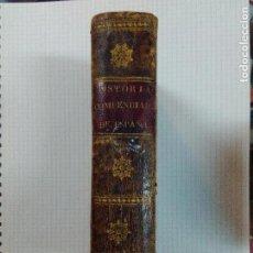 Libros antiguos: HISTORIA COMPENDIADA DE ESPAÑA. Lote 99790287