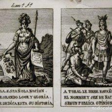 Libros antiguos: DO-089. A LA NACIÓN ESPAÑOLA(...) SE DEDICA ESTA HISTORIA. 12 HOJAS. BARCELONA. 1802. Lote 57749865