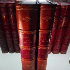 Libros antiguos: CARTAS DE INDIAS - PUBLÍCALAS POR PRIMERA VEZ EL MINISTERIO DE FOMENTO - TOMOS I Y II- MADRID -1877. Lote 100177675