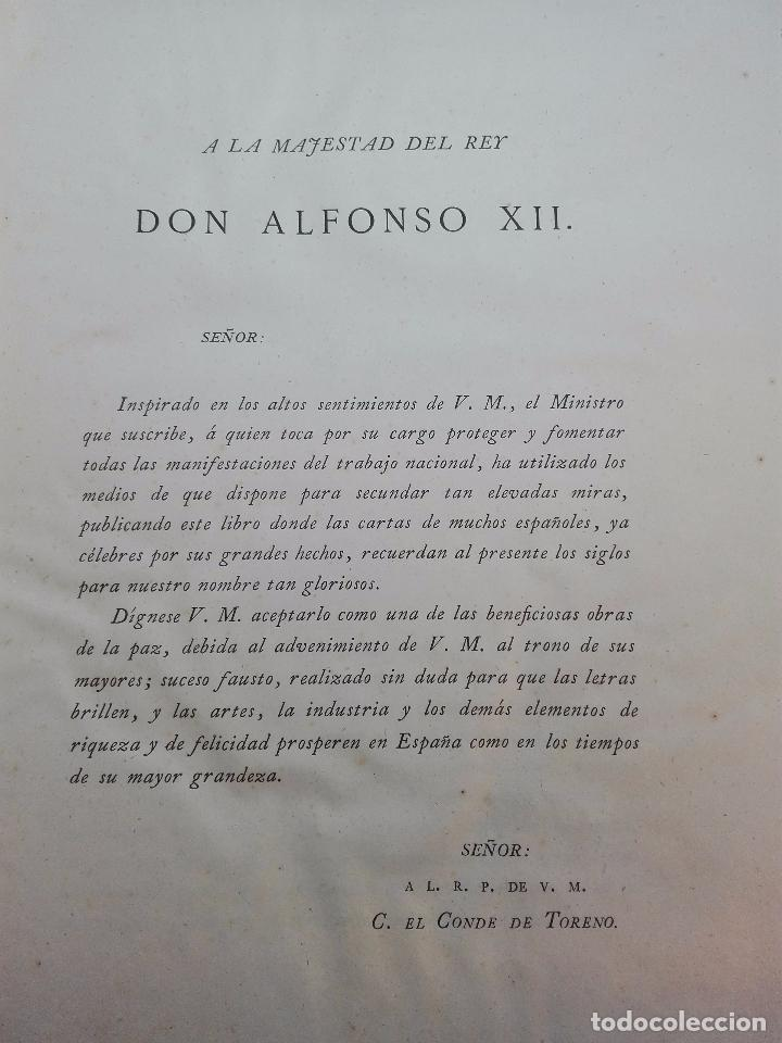 Libros antiguos: CARTAS DE INDIAS - PUBLÍCALAS POR PRIMERA VEZ EL MINISTERIO DE FOMENTO - TOMOS I Y II- MADRID -1877 - Foto 5 - 100177675