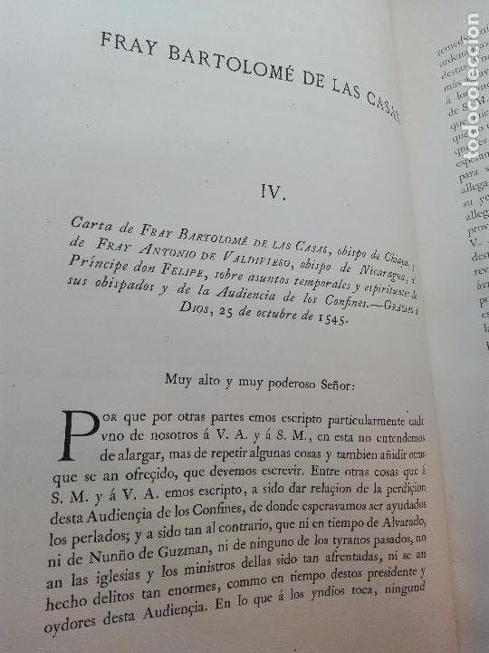 Libros antiguos: CARTAS DE INDIAS - PUBLÍCALAS POR PRIMERA VEZ EL MINISTERIO DE FOMENTO - TOMOS I Y II- MADRID -1877 - Foto 7 - 100177675