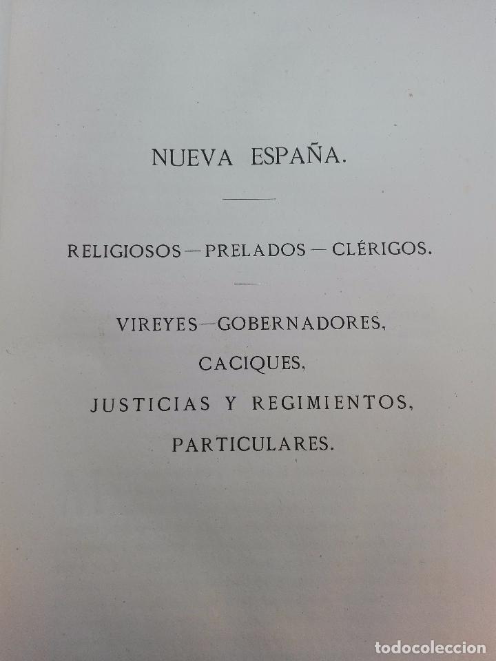 Libros antiguos: CARTAS DE INDIAS - PUBLÍCALAS POR PRIMERA VEZ EL MINISTERIO DE FOMENTO - TOMOS I Y II- MADRID -1877 - Foto 9 - 100177675
