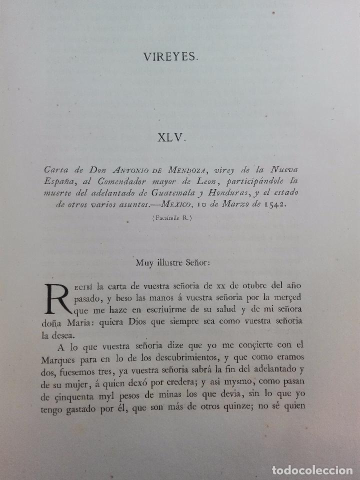 Libros antiguos: CARTAS DE INDIAS - PUBLÍCALAS POR PRIMERA VEZ EL MINISTERIO DE FOMENTO - TOMOS I Y II- MADRID -1877 - Foto 10 - 100177675