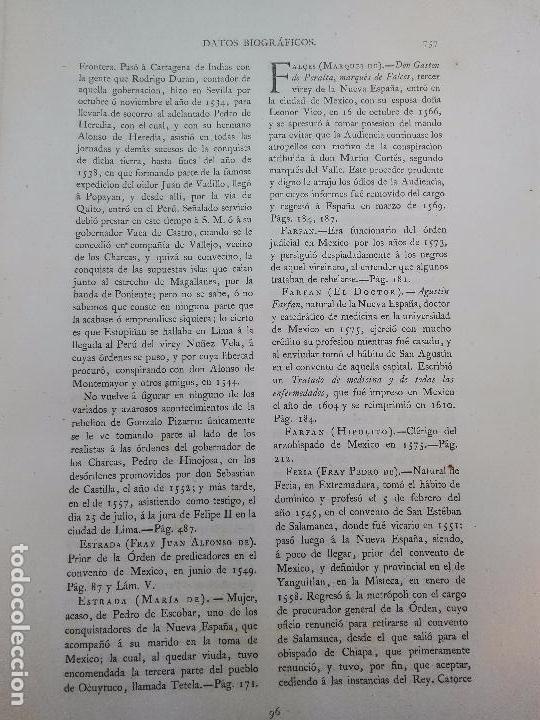 Libros antiguos: CARTAS DE INDIAS - PUBLÍCALAS POR PRIMERA VEZ EL MINISTERIO DE FOMENTO - TOMOS I Y II- MADRID -1877 - Foto 18 - 100177675