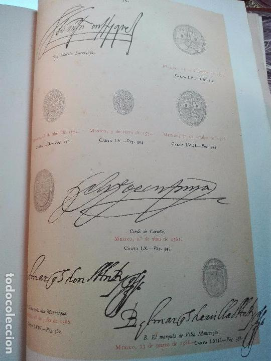 Libros antiguos: CARTAS DE INDIAS - PUBLÍCALAS POR PRIMERA VEZ EL MINISTERIO DE FOMENTO - TOMOS I Y II- MADRID -1877 - Foto 23 - 100177675