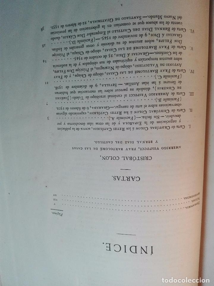 Libros antiguos: CARTAS DE INDIAS - PUBLÍCALAS POR PRIMERA VEZ EL MINISTERIO DE FOMENTO - TOMOS I Y II- MADRID -1877 - Foto 32 - 100177675