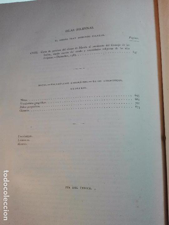 Libros antiguos: CARTAS DE INDIAS - PUBLÍCALAS POR PRIMERA VEZ EL MINISTERIO DE FOMENTO - TOMOS I Y II- MADRID -1877 - Foto 33 - 100177675