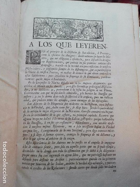 Libros antiguos: HISTORIA DE LA CONQUISTA DE MÉXICO - D. ANTONIO DE SOLIS - BRUSSELAS - FRANCISCO FOPPENS - 1704 - - Foto 5 - 100180207