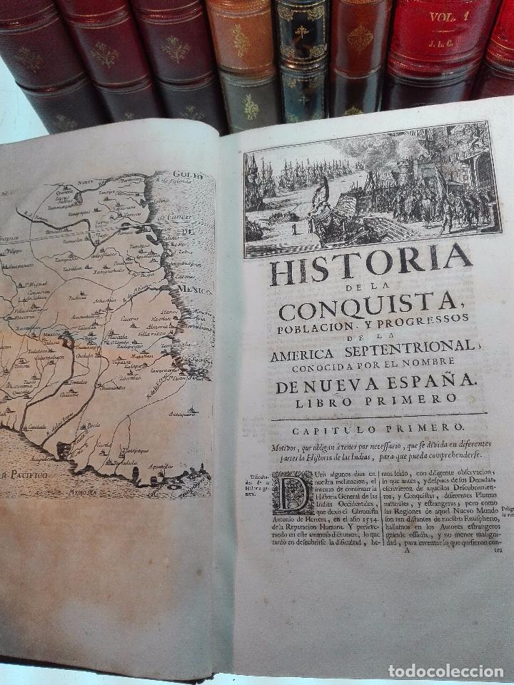 Libros antiguos: HISTORIA DE LA CONQUISTA DE MÉXICO - D. ANTONIO DE SOLIS - BRUSSELAS - FRANCISCO FOPPENS - 1704 - - Foto 13 - 100180207