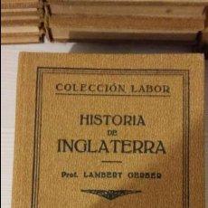 Libros antiguos: HISTORIA DE INGLATERRA. COLENCIÓN LABOR, SECCION VI, CIENCIAS HISTORICAS, Nº70.. Lote 100278219