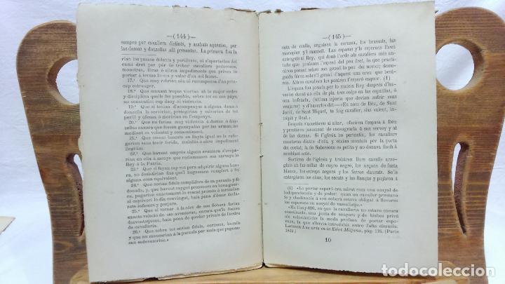 Libros antiguos: LO CASTELL DE SABASSONA. POR JOAQUIM SALARICH, CRONISTA DE VICH. 1879. CON FALTAS, VER. - Foto 5 - 100502679