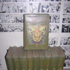 Libros antiguos: COLECCION 10 TOMOS HISTORIA DE ESPAÑA Y SU INFLUENCIA EN LA HISTORIA UNIVERSAL 1ª EDICIÓN. Lote 100508495
