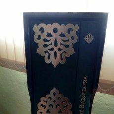 Libros antiguos: LIBRERIA GHOTICA,ESPECTACULAR FACSÍMIL LLIBRE VERD DE BARCELONA ,ESTUCHE DE MADERA ,CODICE MEDIEVAL. Lote 100527675