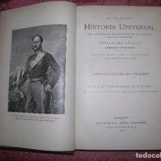 Libros antiguos: (F.1) HISTORIA UNIVERSAL POR GUILLERMO ONCKERS TOMO 41 AÑO 1921. Lote 100587547
