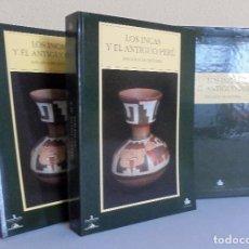 Libros antiguos: LOS INCAS Y EL ANTIGUO PERU - 3000 AÑOS DE HISTORIA - DOS TOMOS - VARIOS AUTORES. Lote 100739631