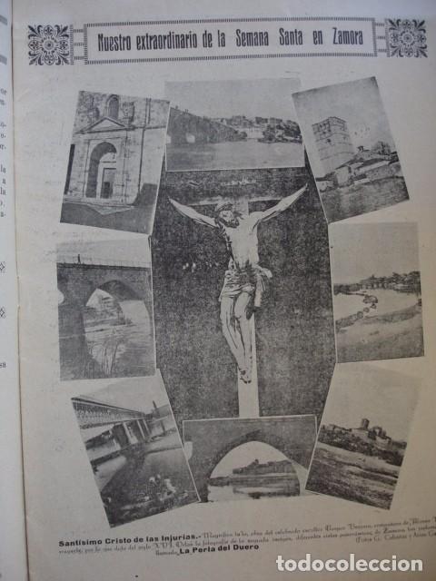 SEMANA SANTA ZAMORA AÑO 1925 NUMERO EXTRAORDINARIO CASTILLA GRAFICA (Libros antiguos (hasta 1936), raros y curiosos - Historia Antigua)