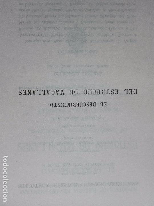 Libros antiguos: EL DESCUBRIMIENTO DEL ESTRECHO DE MAGALLANES - IV CENTENARIO - . P. PABLO PASTELLS - 2 TOMOS - 1920 - Foto 12 - 101469379
