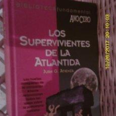 Libros antiguos: LIBRO Nº 965 LOS SUPERVIVIENTES DE LA ATLANTIDA. Lote 101569471