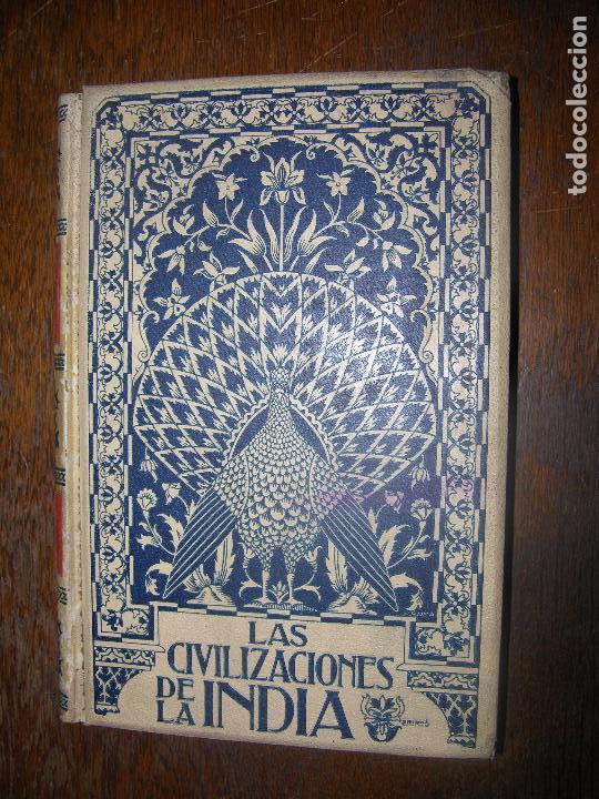 (F.1)TOMO II LAS CIVILIZACIONES DE LA INDIA POR GUSTAVO LE BON AÑO 1901 (Alte, seltene und kuriose Bücher (bis 1936) - Geschichte - Alte Geschichte)