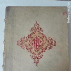 Libros antiguos: BARCELONA A TRAVES DE LOS TIEMPOS EDICION LIMITADA Y NUMERADA 1000 EJEMPLARES ILUSTRACIONES. Lote 102515387